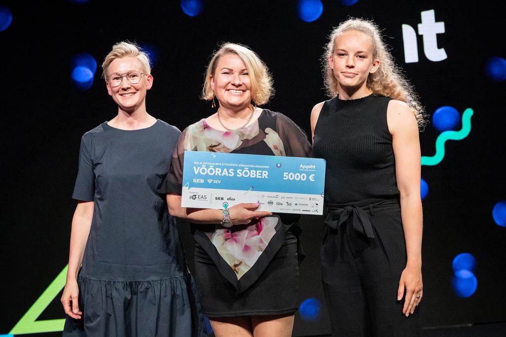 Counselling service Võõras Sõber declared best social enterprise