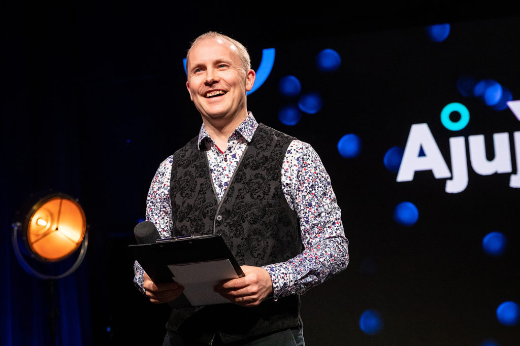 Harri Tallinn, team leader of Ajujaht: Ajujaht is the best place for testing the feasibility of one's business idea and to accelerate bringing the idea to life