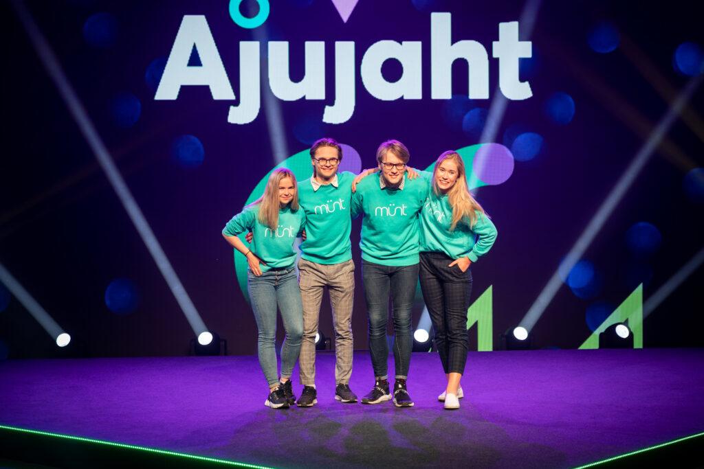 14th Ajujaht winner is tooth wash innovator Münt